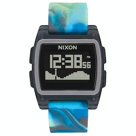 Nixon Base Tide Watch - Blue Jellyfish