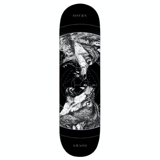 SOVRN Geri & Freki B 8 Inch Skateboard Deck