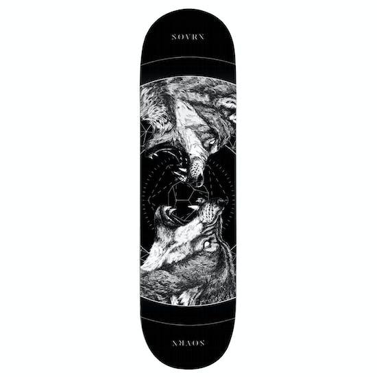 SOVRN Geri & Freki B 8.18 Inch Skateboard Deck