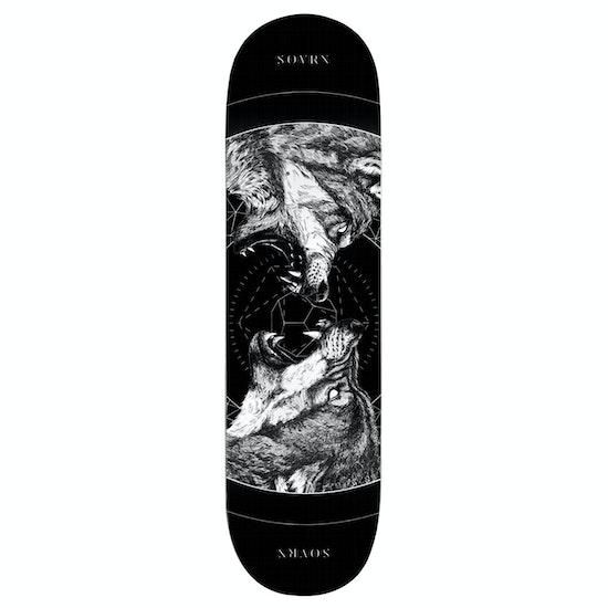 SOVRN Geri & Freki B 8.25 Inch Skateboard Deck