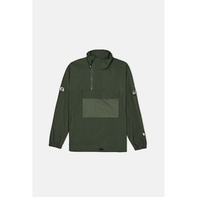 WOOD WOOD Lenny Track Jacket - Dark Green