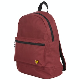 Lyle & Scott Core Rucksack - Burgundy
