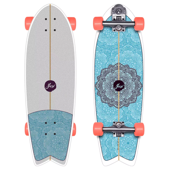 "YOW Huntington Beach 30"" High Perfomance Series 30 Inch Surf Skateboard"