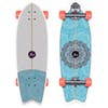 "YOW Huntington Beach 30"" High Perfomance Series 30 Inch Surf Skateboard - Multi"
