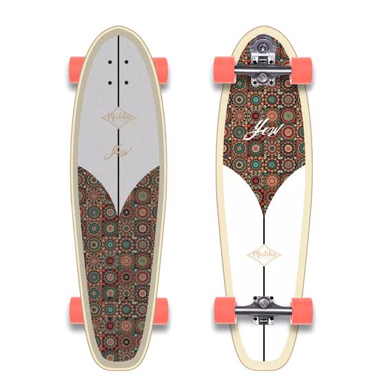 YOW Malibú Classic Series 36 Inch Surf Skateboard