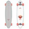 YOW Waikiki Classic Series 40 Inch Surf Skateboard - Multi