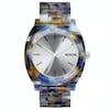 Nixon Time Teller Acetate Watch - Watercolor
