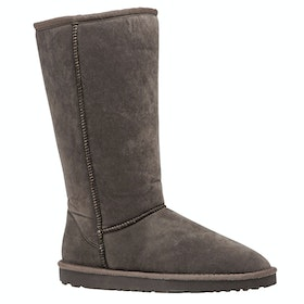Derby House Pro Faux Sheepskin Dames Laarzen - Grey