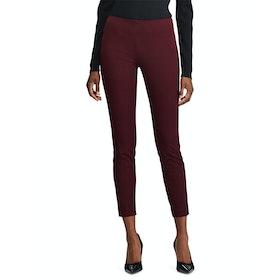 Lauren Ralph Lauren Keslina Skinny Women's Trousers - Pinot Noir