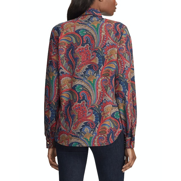 Ralph Lauren Haddox Long Sleeve Women's Shirt