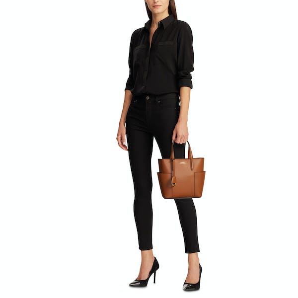 Ralph Lauren Carlyle Tote Mini Women's Shopper Bag