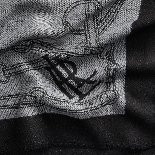 Ralph Lauren S Banket Wrap Oblong Scarf