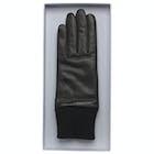 Calvin Klein Cuff Leather Women's Gloves
