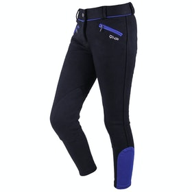 QHP Ice Girls Riding Breeches - Black