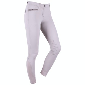 QHP Katie Anti slip Full Seat Ladies Riding Breeches - Sand