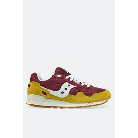 Saucony Shadow 5000 Vintage Shoes - Yellow Maroon White