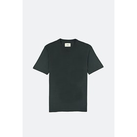 Folk Contrast S S T-Shirt - Charcoal