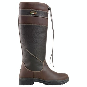 Brogini Warwick Pull On Country Boots - Brown