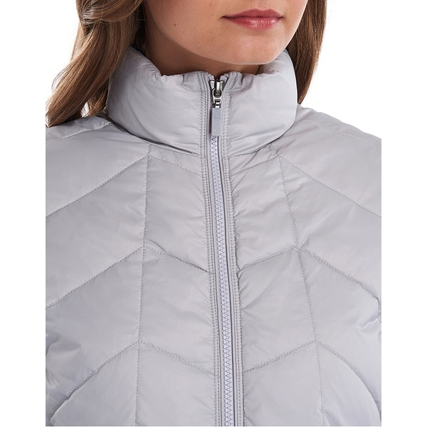 Barbour Winifred Sweat Women's Quilted Jacket - Ice White ...