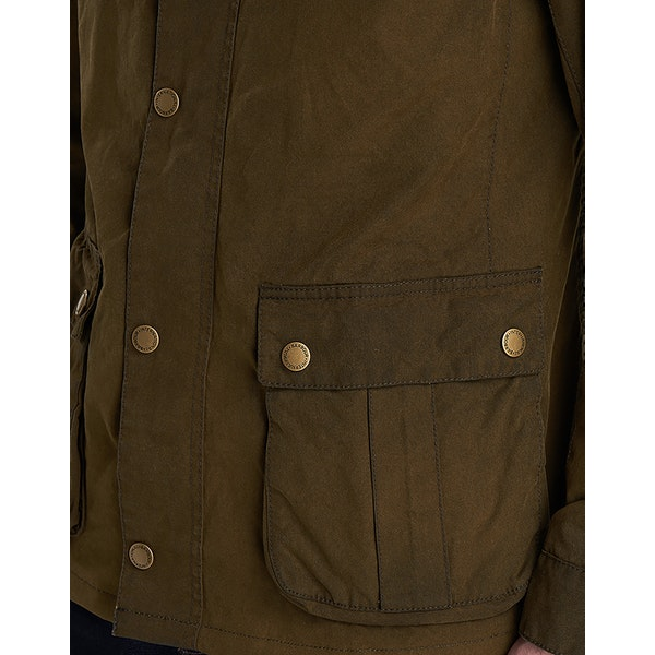Barbour International Lester Washed Men's Wax Jacket