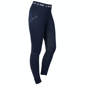 Horka Jubilee Ladies Riding Tights - Blue