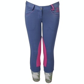 Horka Mathilda Girls Jodhpurs - Blue Ice