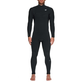 Billabong Furnace Comp 4/3mm Chest Zip Wetsuit - Black
