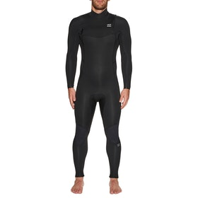 Billabong 4/3mm Furnace Absolute Chest Zip Wetsuit - Black