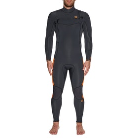 Billabong Furnace Absolute 5/4mm Chest Zip Wetsuit - Black Sands