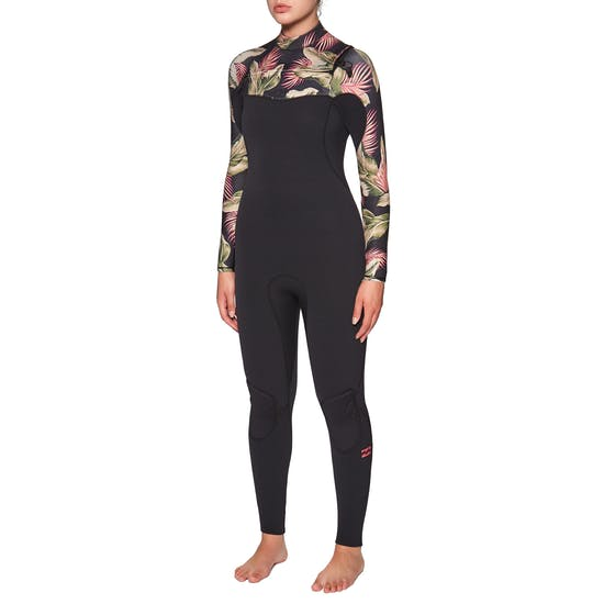 Billabong Furnace Comp 5/4mm 2020 Chest Zip Ladies Wetsuit