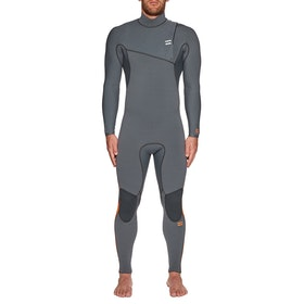 Billabong Furnace Comp 4/3mm Zipperless Wetsuit - Dark Grey