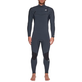 Billabong Furnace Comp 5/4mm Chest Zip Wetsuit - Coal