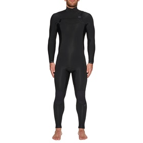 Billabong Furnace Revolution 4/3mm Chest Zip Wetsuit - Black