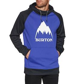 Burton Crown Bonded Pullover Hoody - Royal/trublk