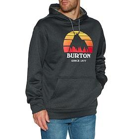 Burton Oak Pullover Hoody - Sunset True Blk Htr