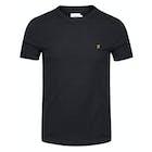 T-Shirt à Manche Courte Farah Dennis Solid