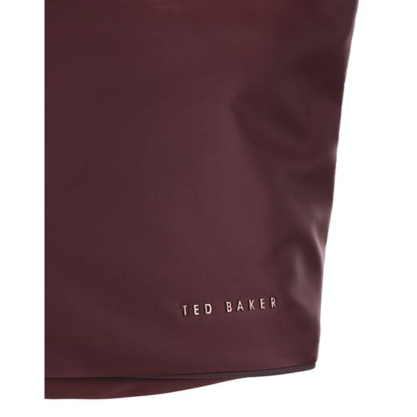 Ted Baker Macieyy Chunky Zip Small Nylon Women's Shopper Bag