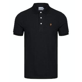 Farah Blanes Men's Polo Shirt - Black