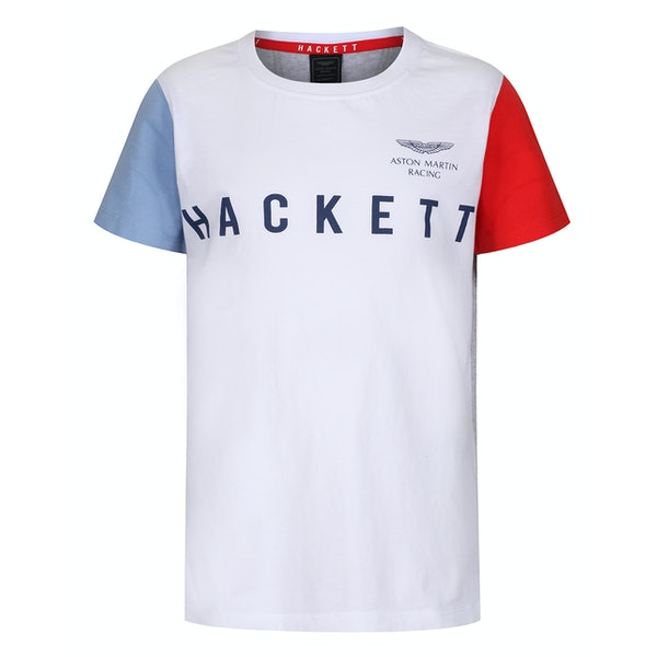 Hackett Aston Martin Racing Multi Short Sleeve Kid's Polo Shirt