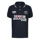Hackett Aston Martin Racing Union Jack Kinderen Poloshirt