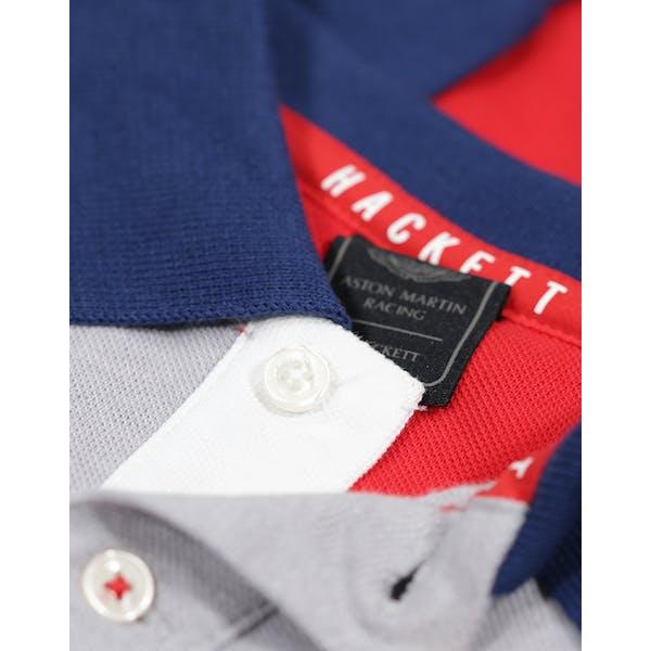 Hackett Aston Martin Racing Multi Long Sleeve Kinderen Poloshirt