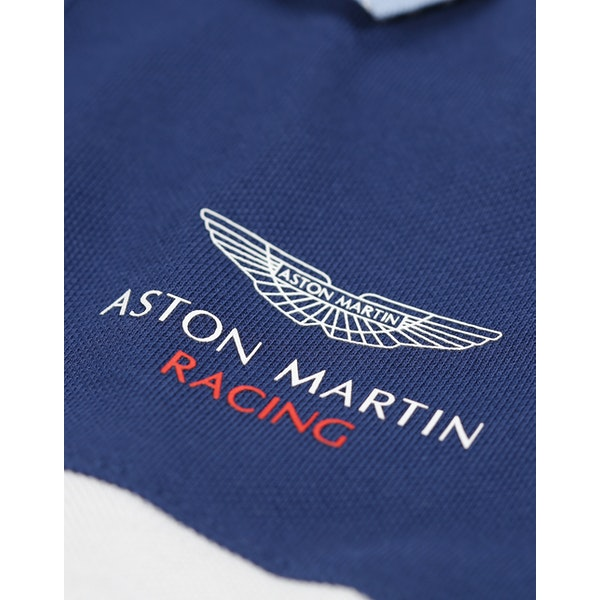 Hackett Aston Martin Racing Panel Kid's Polo Shirt