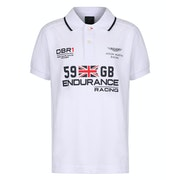 Polo Criança Hackett Aston Martin Racing Union Jack