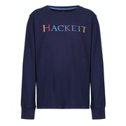 T-Shirt a Manica Lunga Bambini Hackett Colour