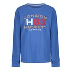 T-Shirt de Manga Comprida Criança Hackett H83 London