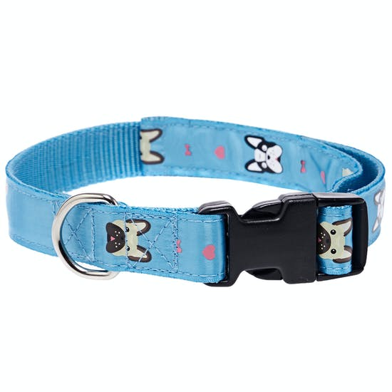 Derby House Pro Frenchie Print Lead and Hundehalsbånd