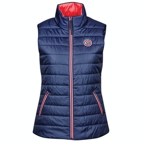 Dublin Julia Puffer Gilet - True Navy