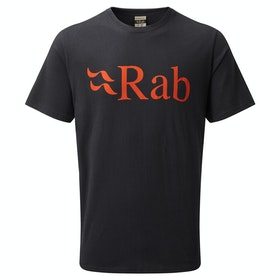 T-Shirt a Manica Corta Rab Stance Logo - Beluga