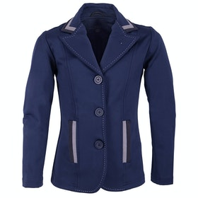 QHP Quinty Girls Competition Jackets - Navy