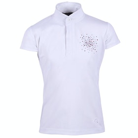 Camiseta competición QHP Dorine Junior - White